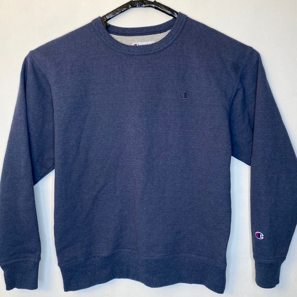 Champion Other - Vintage Champion CrewNeck Sweatshirt Navy Blue L